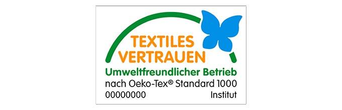 Oeko-Tex Zertifikat