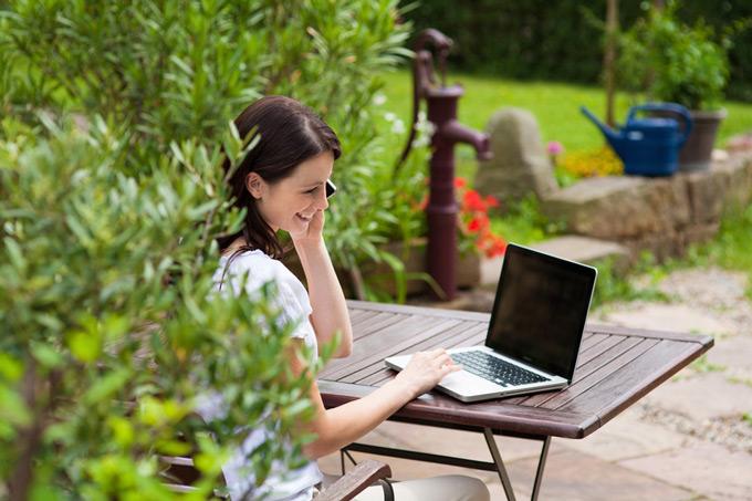 Arbeiten im Garten